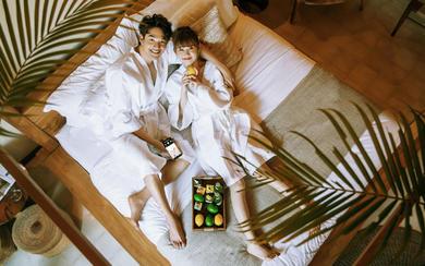 爱旅拍巴厘岛•原创作品•吉利岛酒店房间写真
