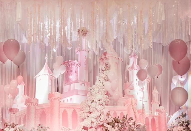 【国宾楼】粉色梦幻童话婚礼