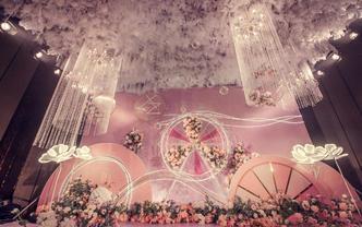 圆舞 粉色浪漫唯美暖色系婚礼
