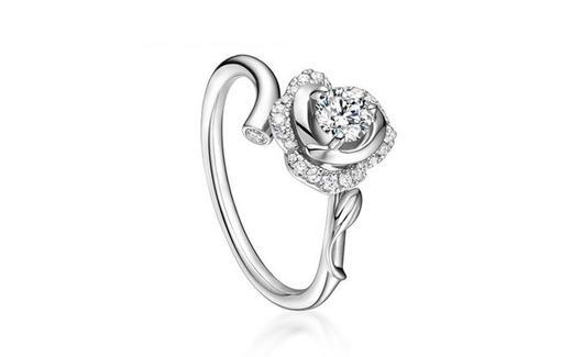 法国珠宝大师之作-真爱之花钻戒 婚戒
