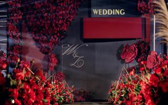 主题婚礼私人定制----红黑复古大气婚礼
