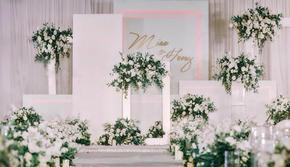 长春优悦婚礼策划---白绿