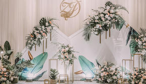 薄荷园婚礼|白色小清新简约婚礼