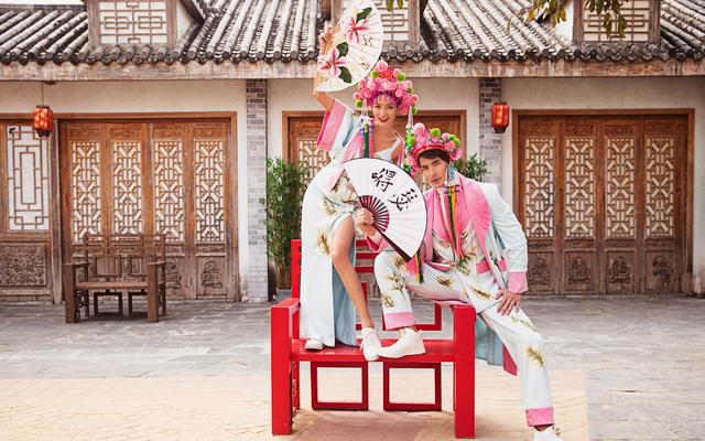 色色婚纱2020新品【国潮风】