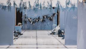 【译心婚礼】蔚蓝主题 轻欧式 高端时尚多结构婚礼