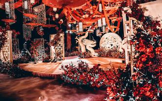 麦锐主题婚礼中国风