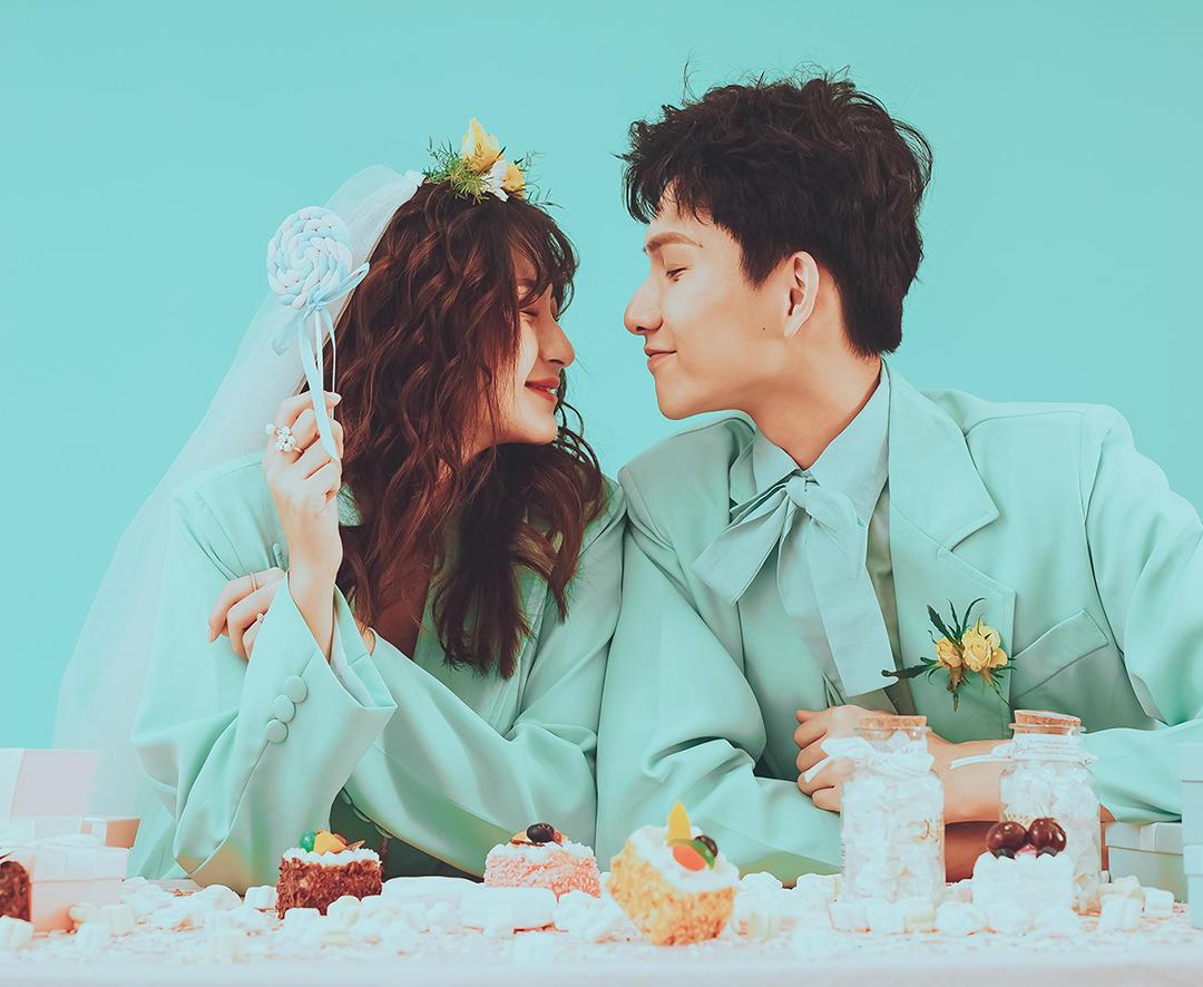 【马卡龙系列】高甜婚照+场景升级+新生代必拍