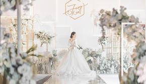 【蕊结婚礼】简约风几何体创意婚礼超值性价比婚礼