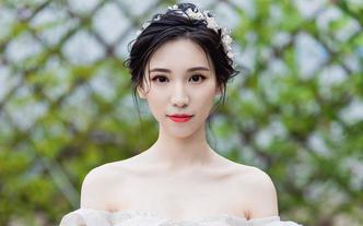 唯妮造型婚礼跟妆----全程跟妆+出门嫁衣