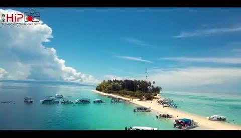 hipo马来西亚沙巴仙本那2人写真潜水自由潜旅拍