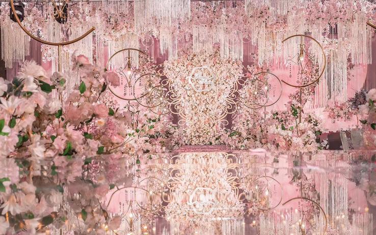 【六月嫁期】主题:粉色花海