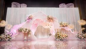 INS风个性|粉色唯美小清新婚礼