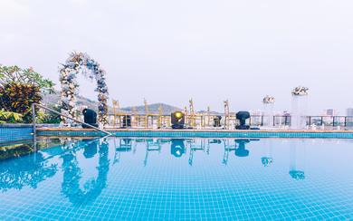 三亚中心皇冠假日酒店婚礼首秀