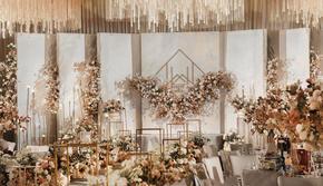 香槟金的诠释「Tang 唐潮一站式婚礼中心」