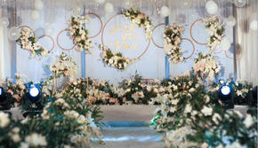 长春优悦婚礼策划---淡蓝