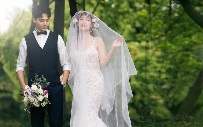 【小清新】10服10造+底片全送+送婚嫁大礼包