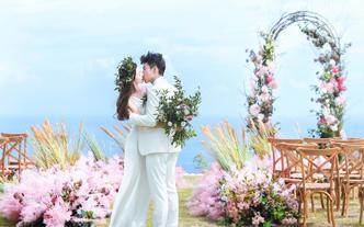 巴厘岛庄园草坪婚礼【微婚礼+旅拍】