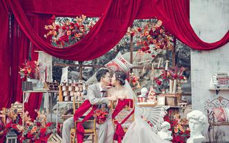 资深婚礼摄影师单机位全天拍摄