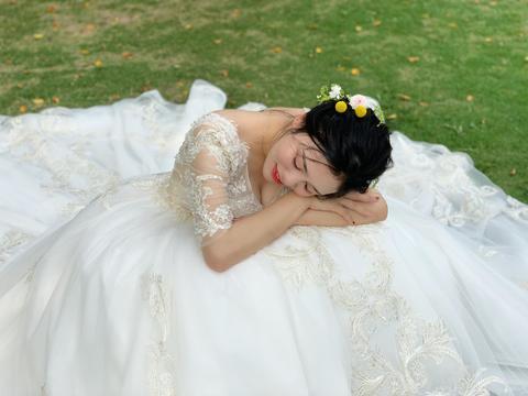 全程跟妆外景森系新娘妆造4款  送新郎伴娘妈妈妆