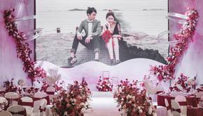 《诺言》led舞台,厦门亦果婚礼,小预算婚礼