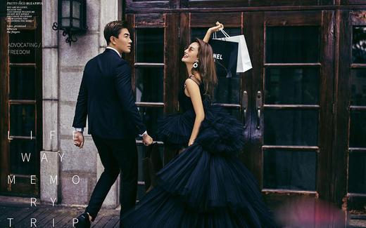 时尚街拍——我的时尚新娘