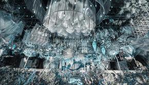 蓝色梦幻婚礼·两座城的爱·星元素婚礼