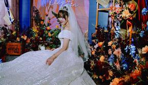 长沙维尔娜婚礼 户外 橙色浪漫婚礼