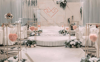 #幸福花开婚礼现场·纯粹#