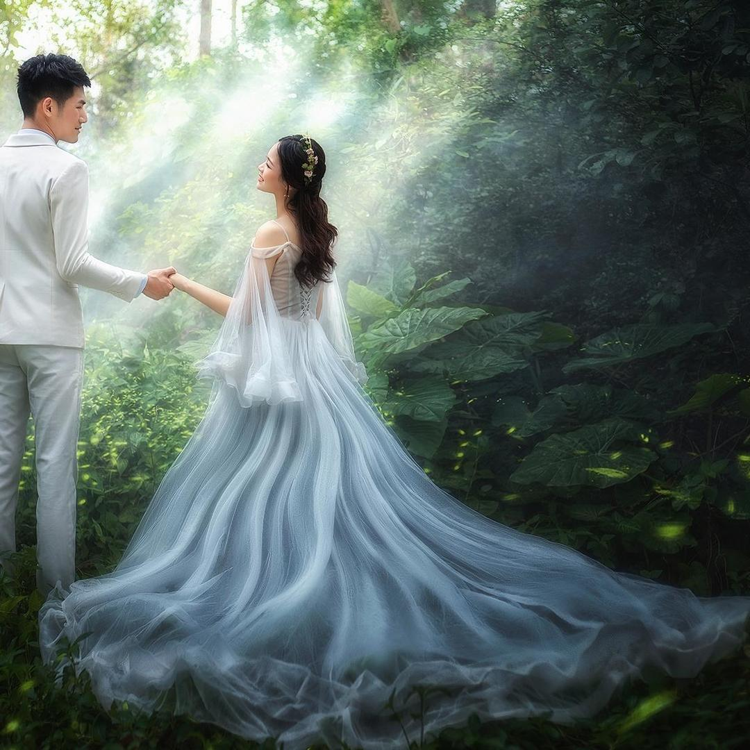 狮子湖+石角旅拍,送婚礼跟妆+婚礼跟拍