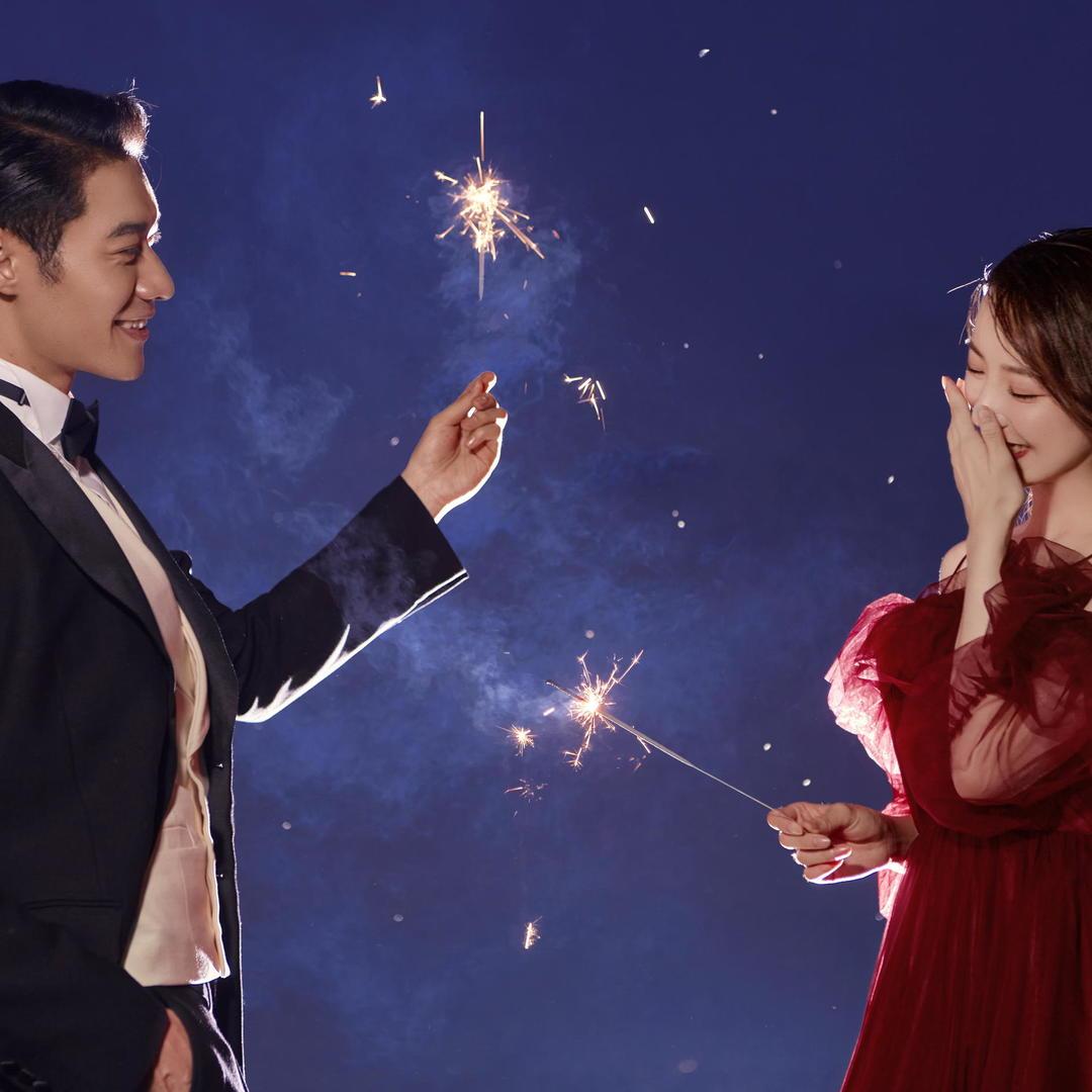 『梦幻星空』品质甄选丨纪实婚纱照丨夜景婚纱照