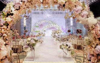 #幸福花开婚礼现场 · 花海物语#