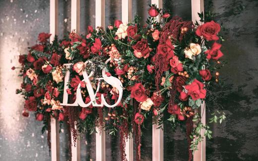 红色·炙热【室内婚礼案例】