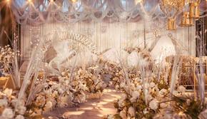 新娘超级喜欢的泰式莫兰迪香槟婚礼  包含婚礼四大