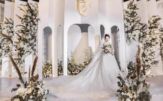 下单立减千元【洛可可最婚礼】白色超简约大气婚礼