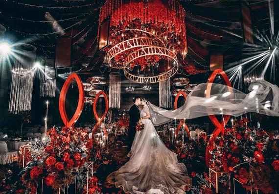不朽 | 金色皇后 · 奢华红金婚礼