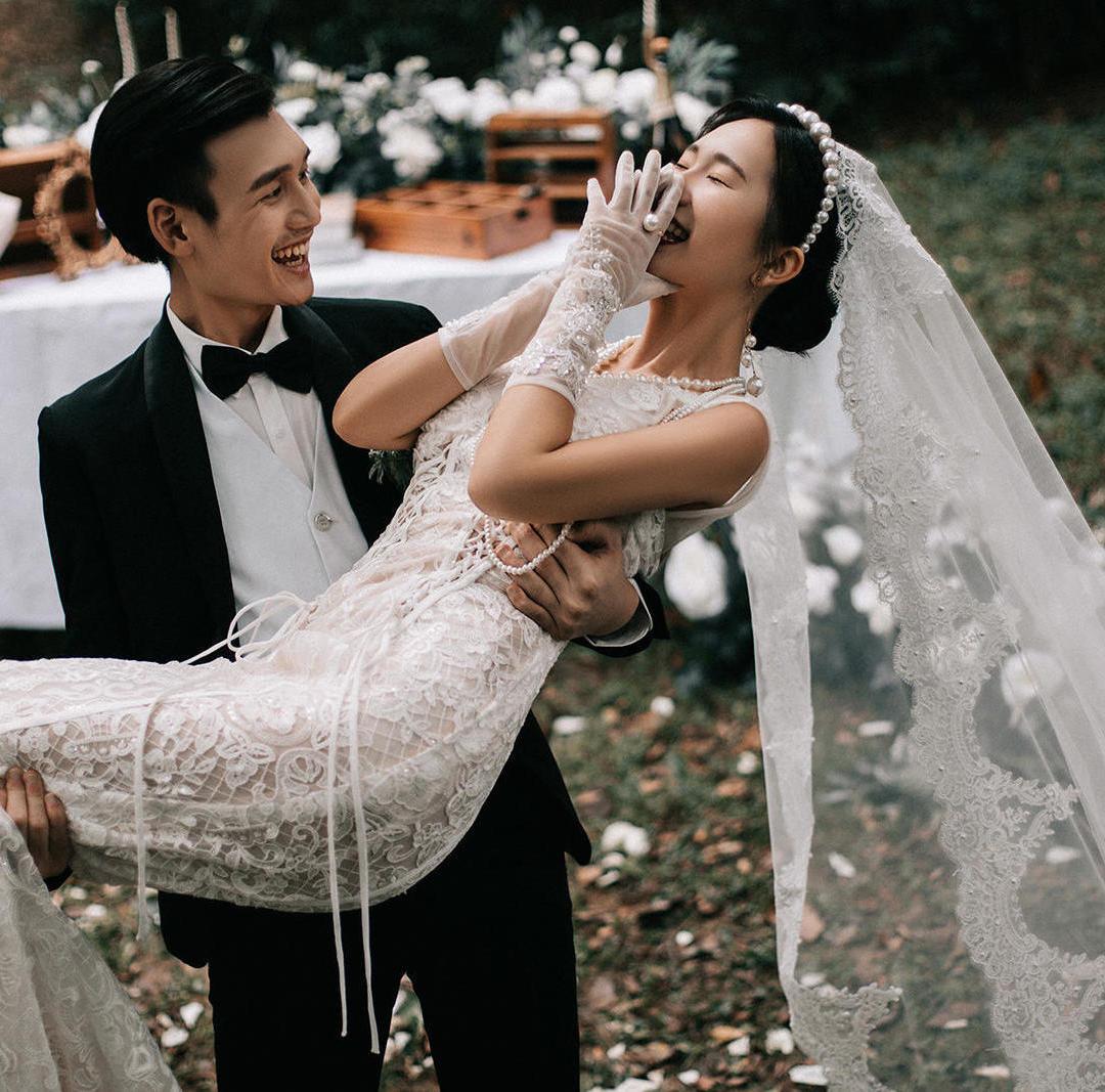 【网红婚纱照】网红照+年轻仪式感结婚照 底片全送