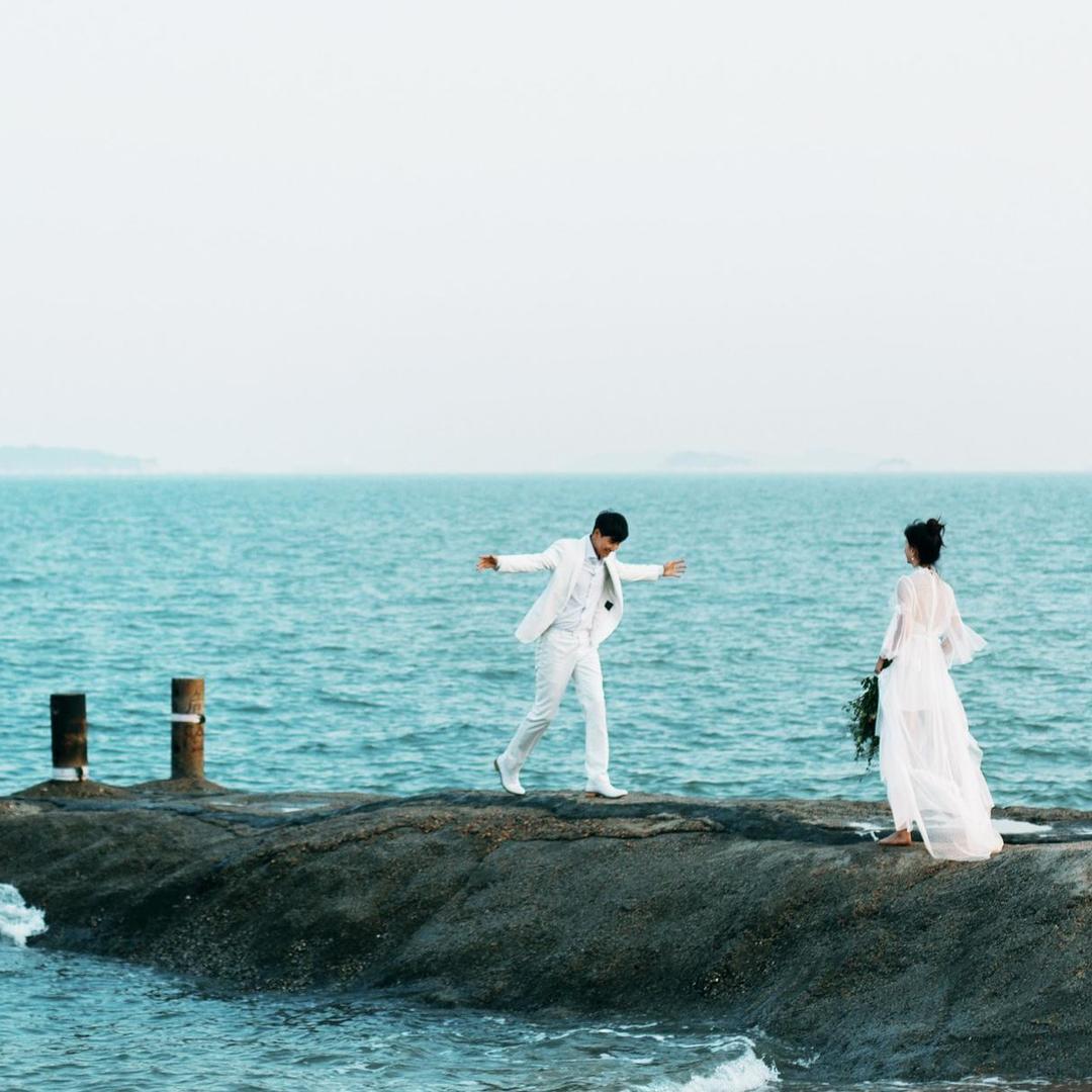 【山东省旅拍自由行】轻奢定制婚纱套系