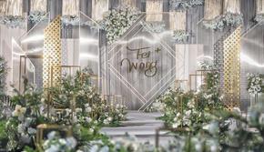 伊生伊世婚礼顾问高端中式西式婚礼布置现场策划