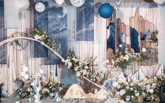 【年底惊喜五折】婚瑞文化·蓝色典雅新中式婚礼