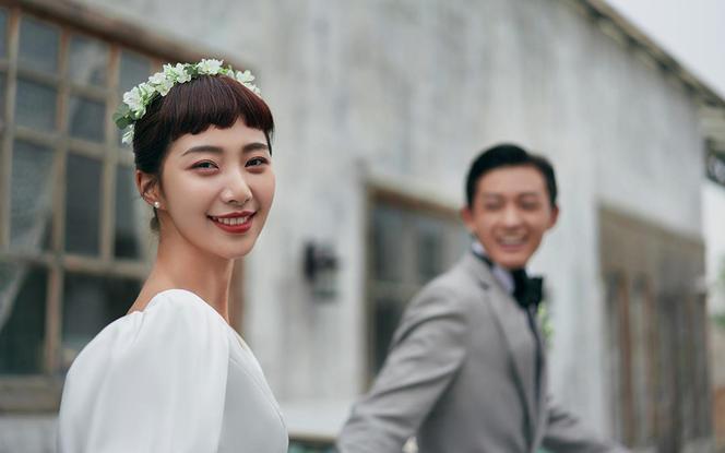 【城市花园】赫本风+浪漫复古+品质仪式感婚照