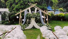 浪漫森系草坪婚礼《晴天》