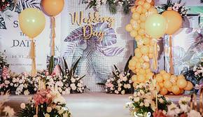 <嘉缘婚礼策划>ins风。浪漫夏日婚礼