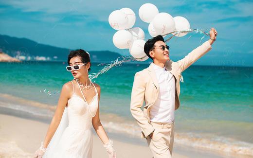 慕色美学婚纱摄影——旅拍海景