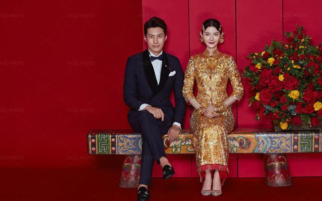 【褂皇中式婚纱照】就是要你霸气出嫁/年度热卖