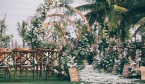 50-80人小型婚礼之选 户外婚礼送首席四大