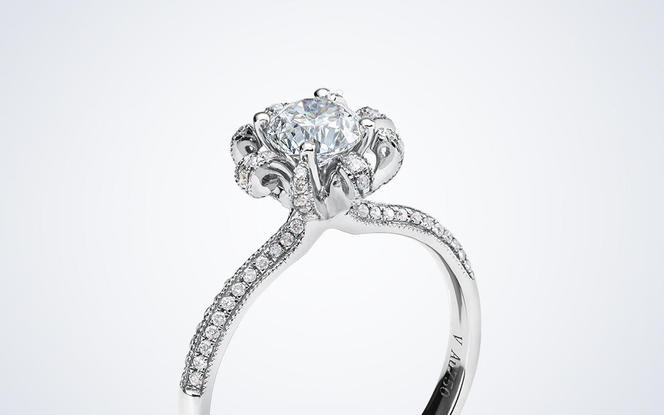 梵尼洛芙-特莱维 独立原创设计款求婚结婚钻戒