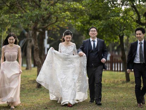 总监单机位婚礼摄影原片800精修60