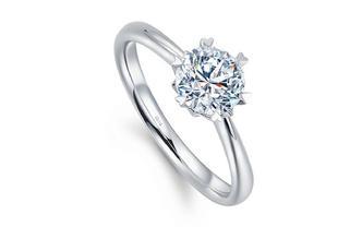 钻石小鸟【倾心】钻戒戒指