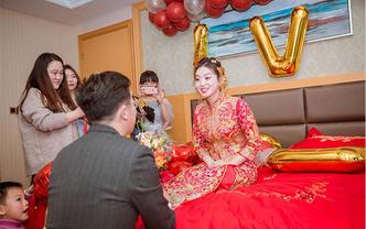 广州佛山婚礼跟拍摄像无人机航拍录像结婚视频制作