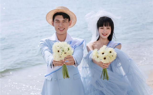 诺爱旅拍『在逃公主系列』海洋蓝